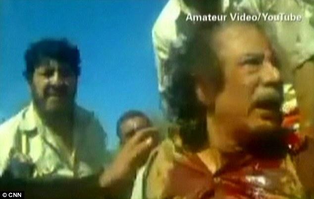 gaddafi co-operating