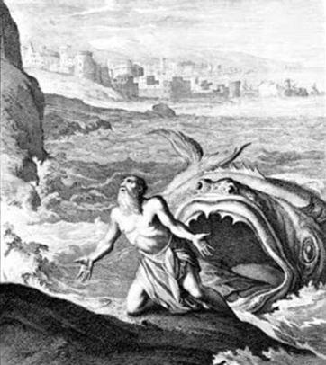 Jonah emerges
