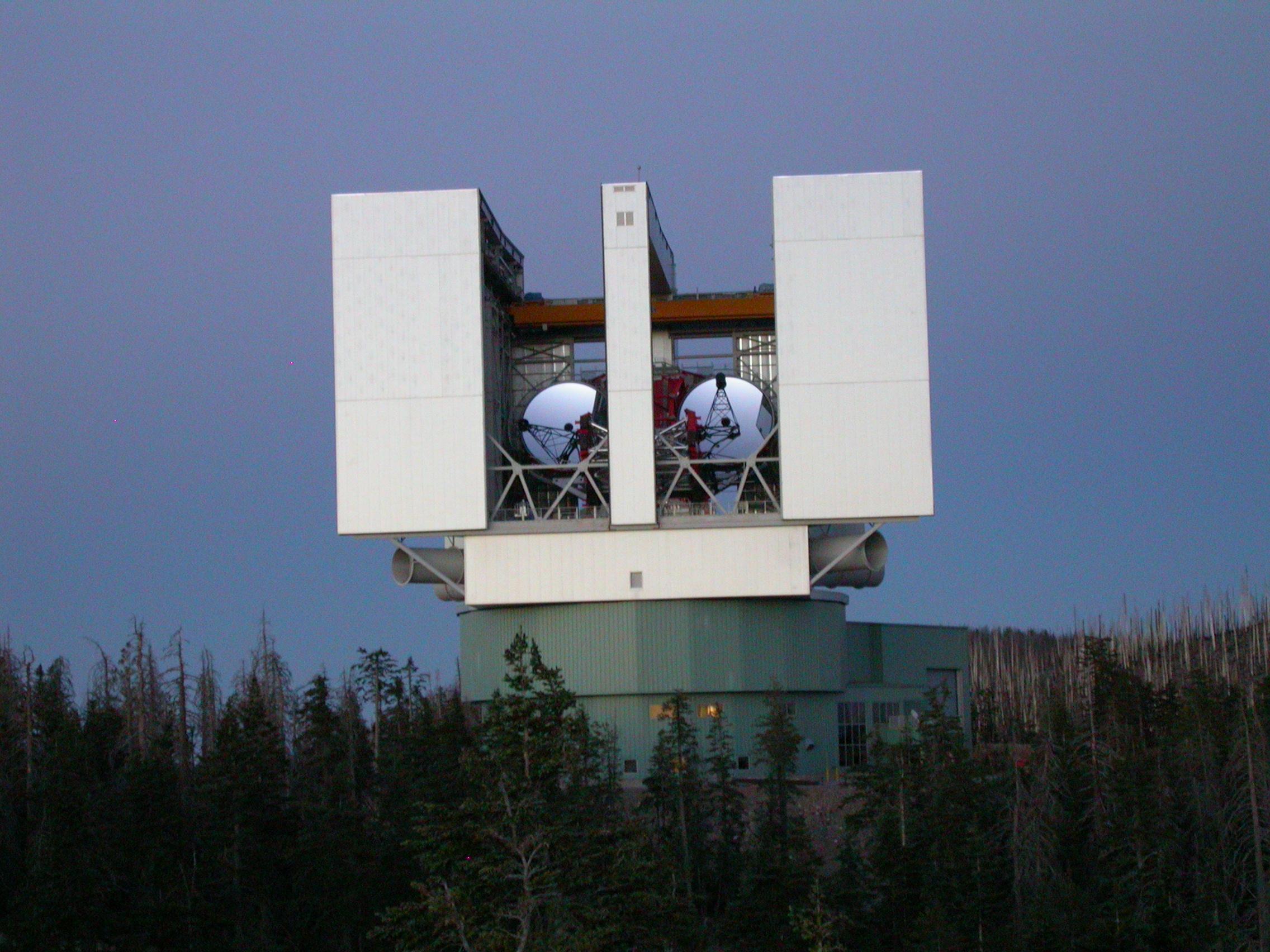 L.U.C.I.F.E.R. at the Mt. Graham Observatory in AZ