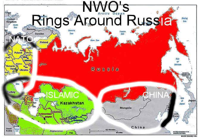 NWO's Rings Around Russia