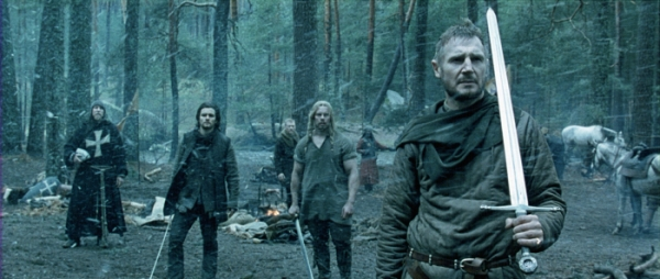 Neeson in forrest