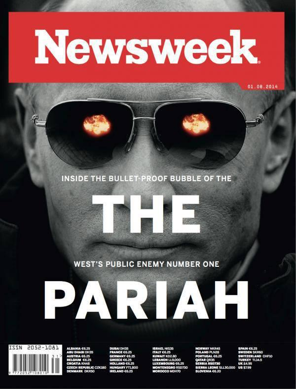Newsweek Demonizes Putin