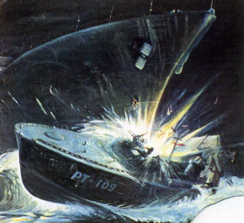 PT 109's ignominous end