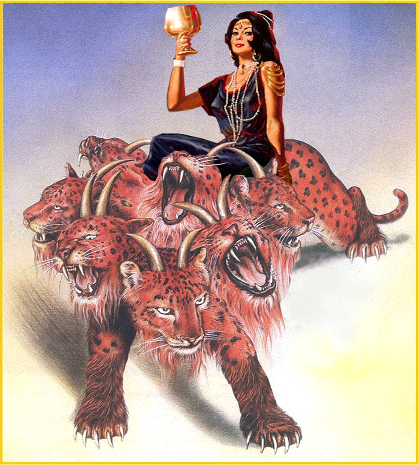 Revelation 17, A Whore Rides the Beast
