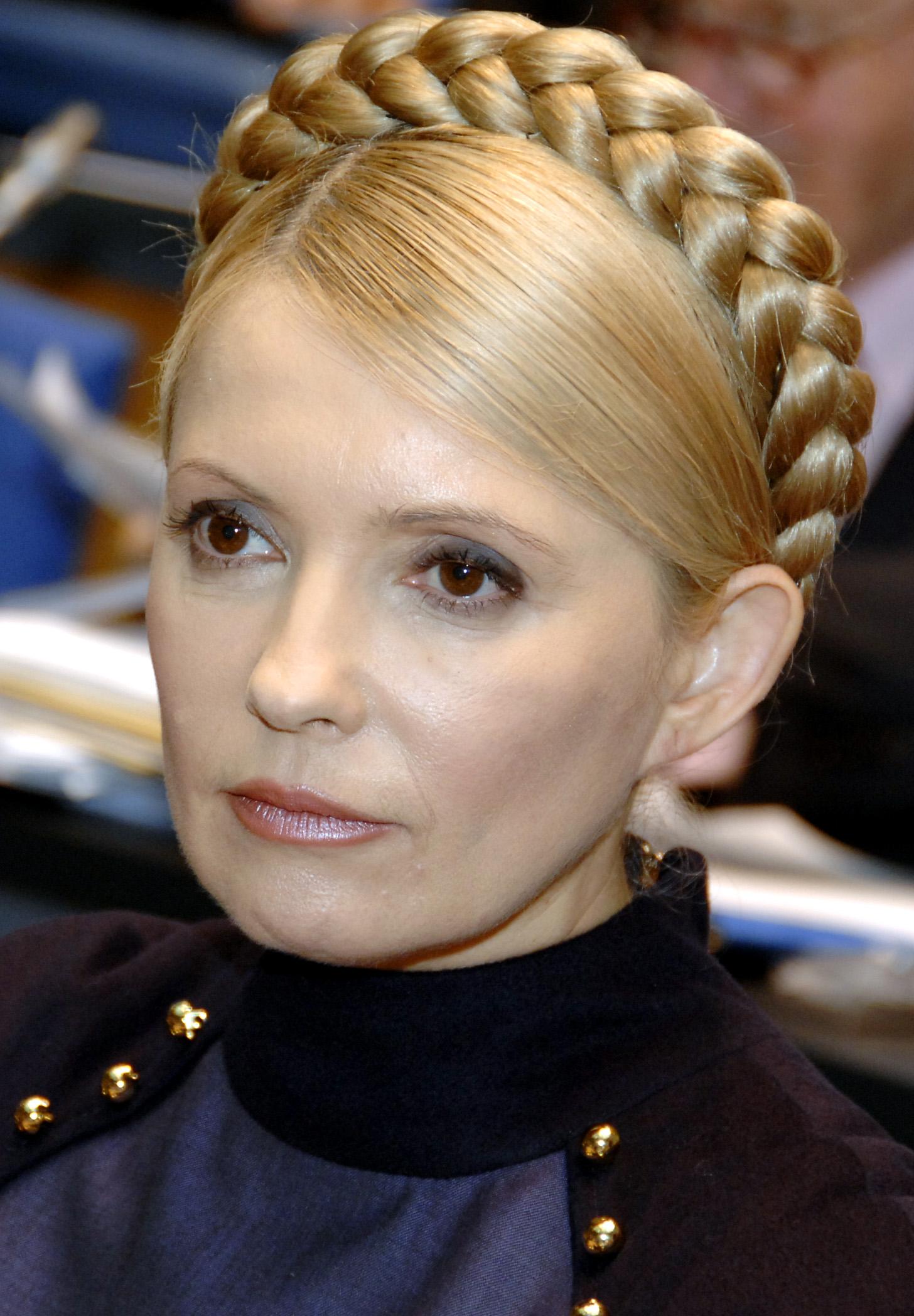 Tymoshenko the blonde princess leah