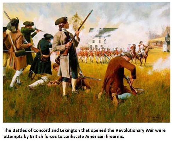 concord and lexington