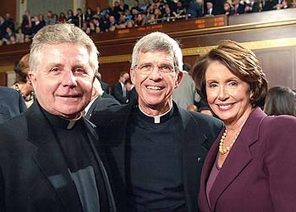 daniel chaplain, stephen privett and nancy pelosi