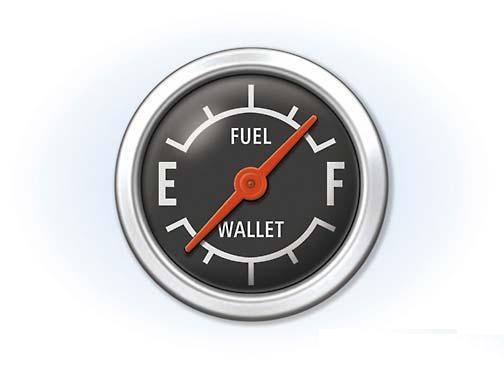 fuel vs wallet