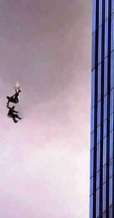 jumping from the wtc on 911