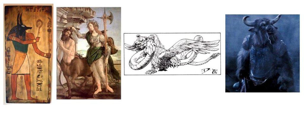 mythological hybrids