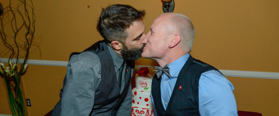 """AHF's Same-sex Rose Parade Wedding: """"Love is the Best Protection"""""""