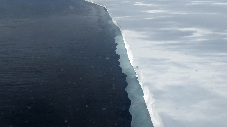 the ross ice shelf, NASA