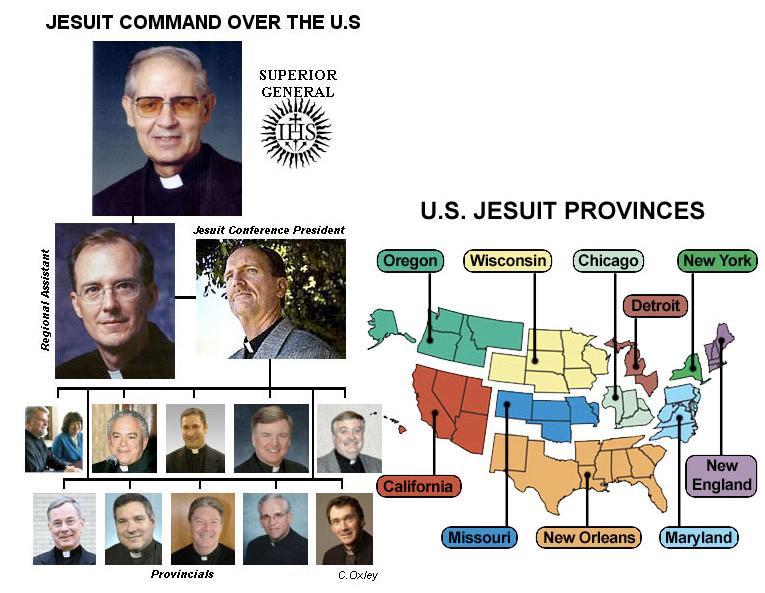 jesuit organization structure