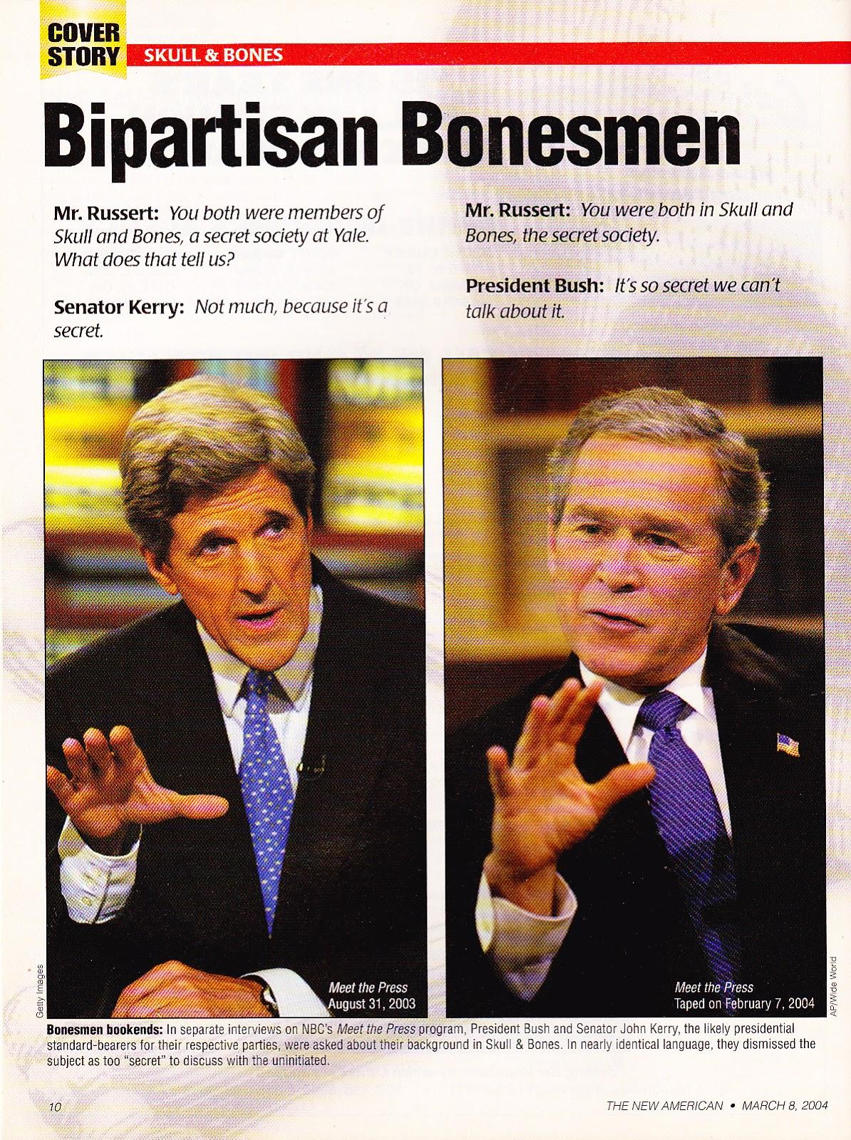 bipartisan bonesmen, new american mar 2004