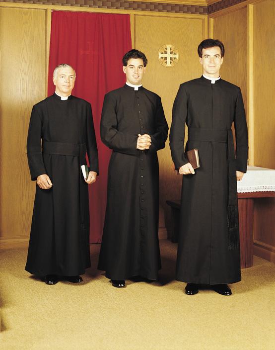 jesuit cassocks