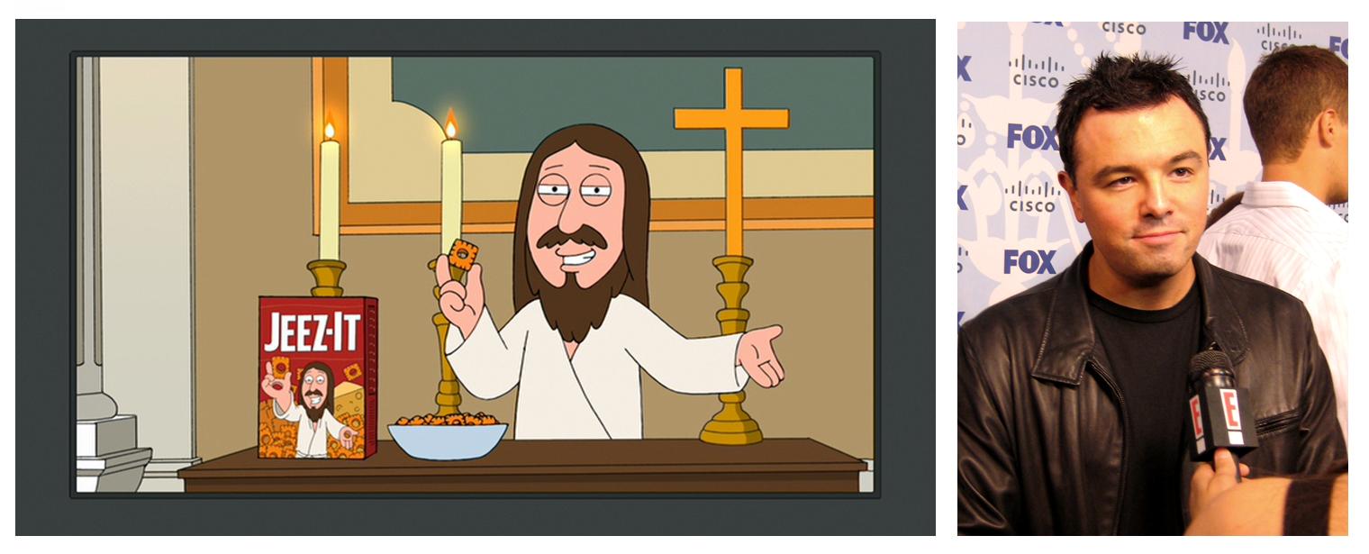 macfarlane mocks Jesus