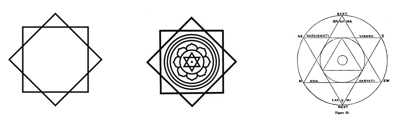 six and eight pointed stars in pagan mysticism