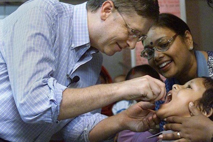 bill gates oral polio vaccine india