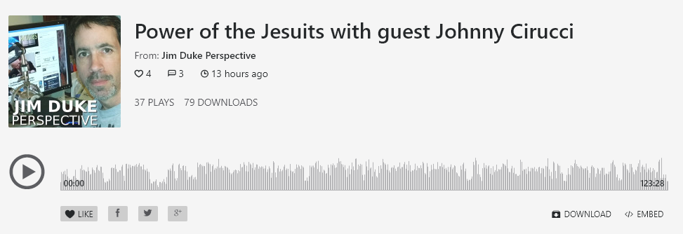 Power of the Jesuits with guest Johnny Cirucci, The Jim Duke Perspective