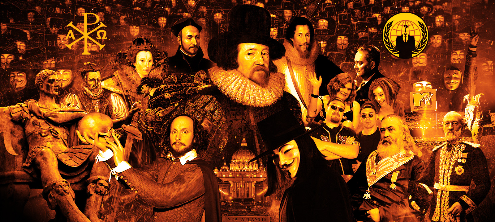 """Vatican Freemasons Control All Reality From """"Science"""" To """"Shakespeare"""""""